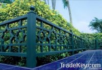 worught iron fence R9001