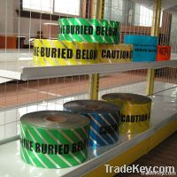 Underground Detectable Warning Tape for pipes and cables protection