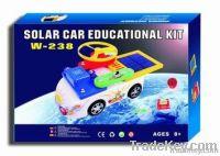 Solar car electronic block kit