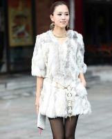 Rabbit Fur Overcoat