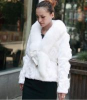 Rabbit Fur Overcoat