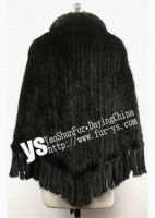 Mink Knitted Fur Scarf
