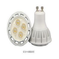 2 years Quality SMD3030 4W 5W GU10 diammable bulb LED Lamp 220V Bulb LED Spotlight