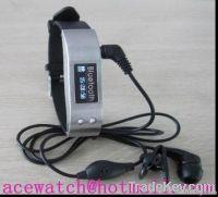 LED Display Vibrating Bluetooth Bracelet