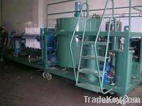 supply black oil treatment machine