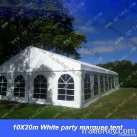 10X20m White party marquee tent