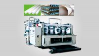 PE Double-wall corrugated pipes production line