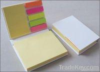 Sticky memo pad, notepad