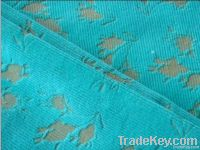 Colorful Burn-out Corduroy Fabric
