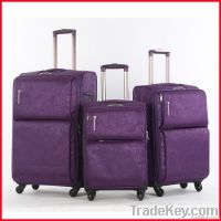trolley travel polyester luggage