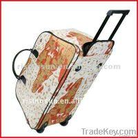 fashion trolley traveling duffle bag