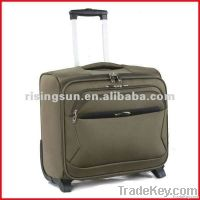 polyester trolley laptop bag and rolling computer bag