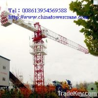 QTP100 flat-head tower crane