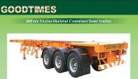 40Feet 3Axles Skeletal Container Semi-Trailer