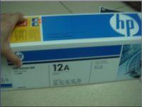 Toner HP Q2612A Black for Laser Printer