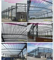 Hot-dip galvanized Steel structure buildings