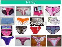 Ladies Underwear, Panties, Bikini, Hipsters