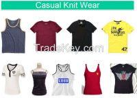 T-Shirt, Polo Shirt, Tank Top, Casual Knit Wear