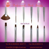 practices use nylon hair nail brushes set 12pcs