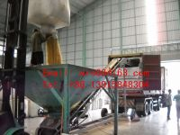Conveyor Belt or gravity loading Food grade PP woven dry bulk container liner bag for wheat / soybean / rice / malt /grain