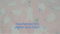 Single Jersey Flame Retardant Jersey for Sale