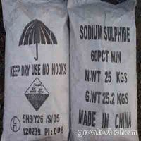 Sodium Sulfide Yellow Solid