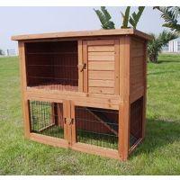 wooden rabbit house