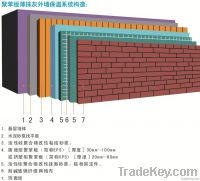 EPS, XPS thin plaster exterior wall insulation system