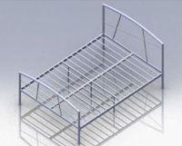 Modern Single Metal Bed