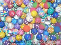 Rubber bouncing balls, toy ball, printed ball, vending toys, bouncybal