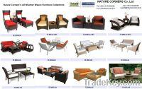 Outdoor Living Set, Sofa Set, Patio Living Set, Outdoor Lounger