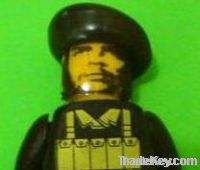 Che Guevara Lego Figure Head custom minifigure Personalized