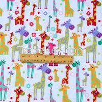 Custom Design Minky Digital Print Fabric