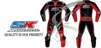 SK MUGHAL MOTORBIKE LEATHER RACING SUIT