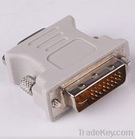 DVI (M) to VGA (F) video converter/adapter