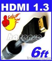 HDMI Cable 1.8m 1080p For HDTV to LCD