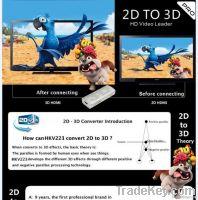 2D to 3D Converter, 2D-3D
