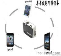 For iphone, ipad, ipod mini Projector