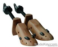 2 way wood shoe tree