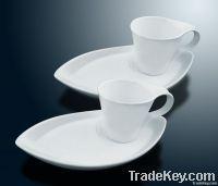 porcelain, stoneware cup&saucer