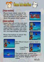 children games  shooting airplane, arcade redemption