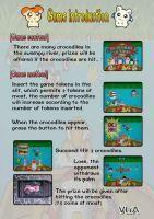 Crocodile Action Arcade Game