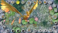 dragon and pheonix arcade video game machine cabinet
