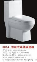 one and two piece toilet