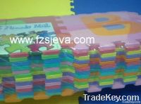 Non-toxic foam letters puzzle mat, eva foam letters&numbers floor mat