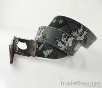 mens womens fabric canvas belt fashion