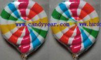3D swirl lollipops, hard candy lollipops