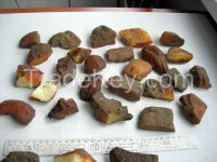 Highest grade natural Ukrainian amber, different grades available