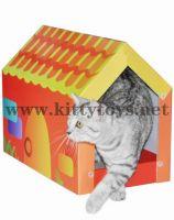 cat house, cat scratcher