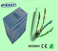 High quality UTP/FTP/SFTP cat5e/cat6 cable  4Pair 305m/roll